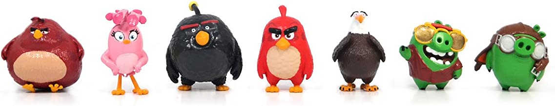 Angry Birds Movie Mini Figure Multi Pack Set A (7 Piece)