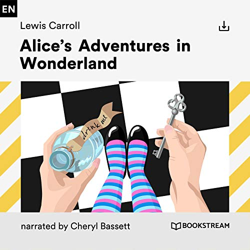 Alice's Adventures in Wonderland audiobook cover art