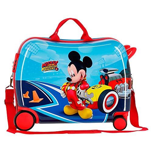 Disney Lets Roll Mickey Kindergepäck 50 centimeters 39 Mehrfarbig (Multicolor) - 3
