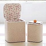Reposapiés sillón, taburete de almacenamiento taburete, con la tela, lo anterior es una sala de muebles otomana asiento de vida en el hogar,A