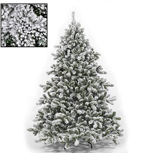 Rotex Albero di Natale innevato Artificiale Tirolese folto cm 180 210 230 270 (270 cm)