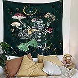 XGguo Tapiz para Colgar en la Pared, Tapestry, Tela de Fondo de Arte de Estrella y Luna estética