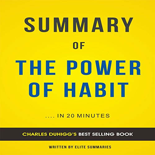 Summary of The Power of Habit by Charles Duhigg cover art