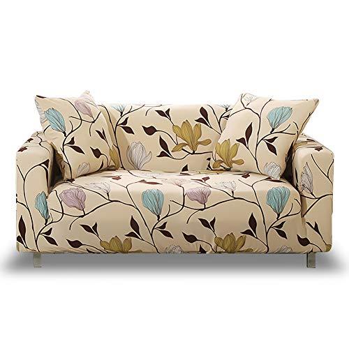 HOTNIU Elastischer Sofa-Überwürfe Antirutsch Stretch Sofaüberzug, Sofahusse, Sofabezug, Sofa Abdeckung Hussen für Sofa, Couch, Sessel in Verschiedene Größe und Farbe (3 Sitzer, Pattern_MLK)