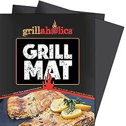 Set of 2 Heavy Duty BBQ Grill Mats