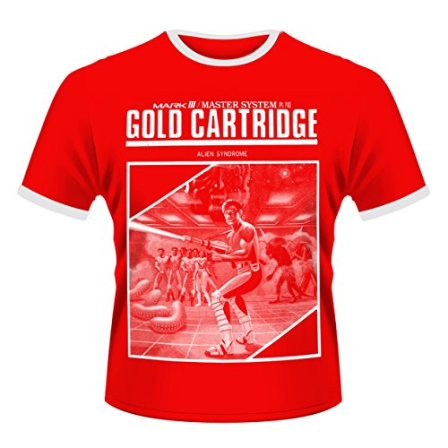 Sega: Gold Cartridge (T-Shirt Unisex Tg. S) [Italia]
