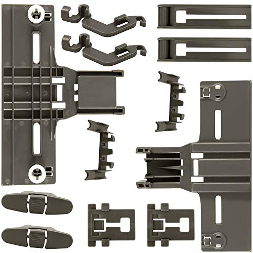 Dishwasher Parts Upper Rack (12 Packs) W10350376 (2) W10195840 (2)...