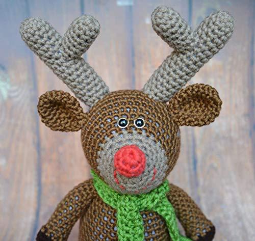 Reindeer Stuffed Animal for Christmas