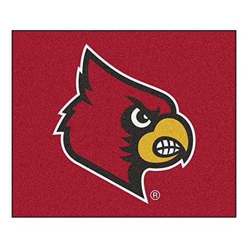 Fanmats Louisville Cardinals Tailgater covid 19 (Louisville Football Rug coronavirus)