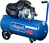 Scheppach - 5906120901 - HC100DC Compresor de Aire de 2 cilindros. 2200W 3CV 100L