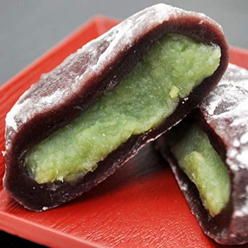 黒米 ずんだ 大福 80g 10袋入り 冷凍 雑穀 枝豆 だいふく 餅 枝豆餡 和菓子 あん