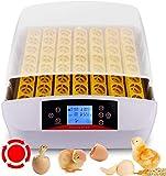 Couveuse œufs Automatique Incubateur 56 œufs Affichage Numérique Appareil d'Incubation Eclosion de Canard Oie Pigeon Caille