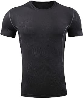 profesional rápida secos camisetas para hombres de entrenamiento deportivo camisetas top corto