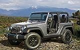 B-HOD31B Jeep Wrangler 56cm x 35cm,22inch x 14inch Silk