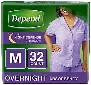 Depend Night Defense Incontinence Underwear for Women