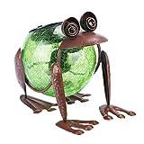 Solar Table Lanterns Outdoor Garden Frog...