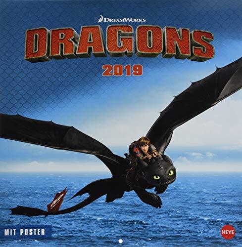 Dragons Broschurkalender - Kalender 2019