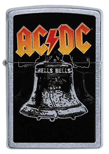 Zippo Classic Lighter-AC/DC Accendino, Ottone, Design Individuale, Original Pocketsize