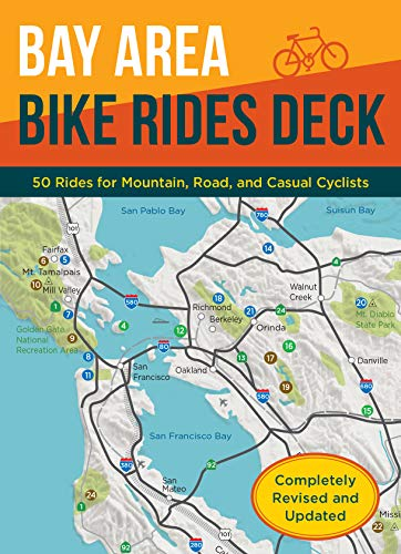 Bay Area Bike Rides Deck, Revised Edition: (Card Deck of Bicycle Routes in the San Francisco Bay Area, Cards for Northern California Cycling Adventures) (English Edition)