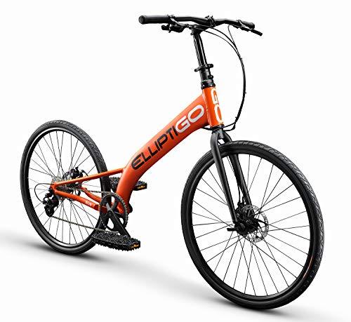 ElliptiGO RSUB Road Performance Outdoor Stand Up Bike and Best Hybrid Indoor Exercise Trainer, Orange