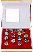 Latim Naruto Rings Uchiha Sasuke Itachi Sharingan Akatsuki Organization Cosplay Ring New in Box 10 PCS