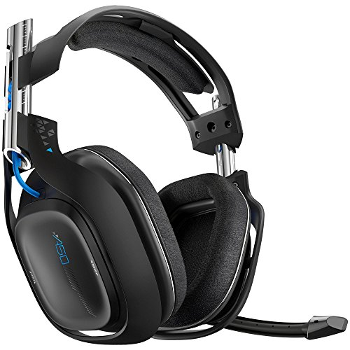 ASTRO Gaming A50 PS4 - Black (2014 model) (Gen 2) (Renewed) …