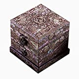 LWW Caja Joyero Chino,Joyero Caja de Almacenamiento de maderachinacaja de vestidor Joyerotalla de Perlas de Alto Grado Muebles y Regalos orientales