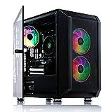 ADMI FR-1 Gaming PC: AMD Ryzen 2300X 4.0Ghz Quad Core, RX570 8GB Graphics Card, 16GB 2400MHz, 240GB SSD + 1TB HDD, Raider RGB Case, Windows 10, 300mbps Wifi