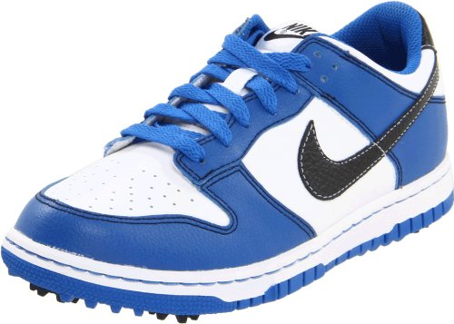 Nike Nike Dunk NG Jr. 484715-101 Weiß-Blau-Schwarz Größe 36 US 4Y UK 3,5 23 cm Golfschuhe