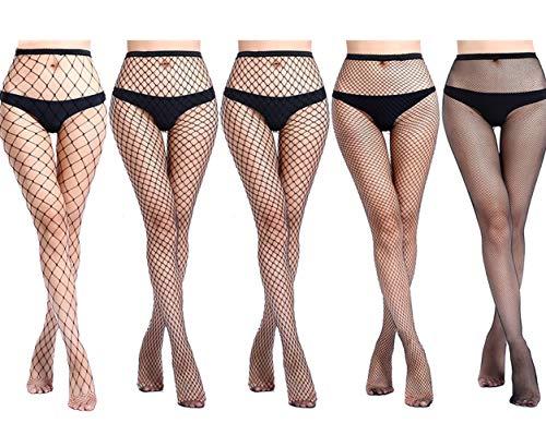 4-5 Pairs Fishnet Stockings Womens …