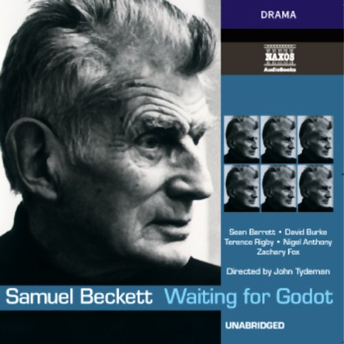 Waiting for Godot audiobook cover art