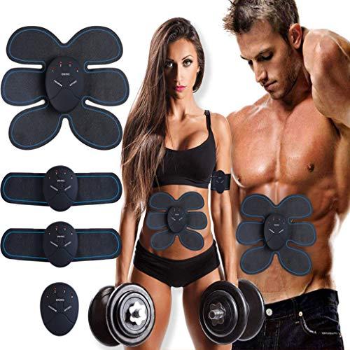 petit un compact Stimulateur électrique musculaire MASOMRUN, électrostimulateur abdominal EMS…