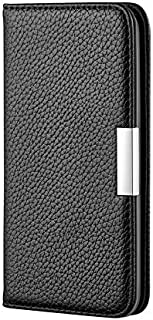 For Samsung Galaxy A2 Core Case, Solid Color PU Leather Button Flip Wallet Case With Card Slots & Holder for Samsung Galax...