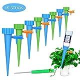 Automatisch Bewässerung Set ,FYLINA 15 Stück Einstellbar Bewässerungssystem Garten zur Pflanzen...