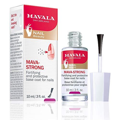 Mavala Mava-Strong - Base Fortalecedora Para Unhas 10Ml, Mavala