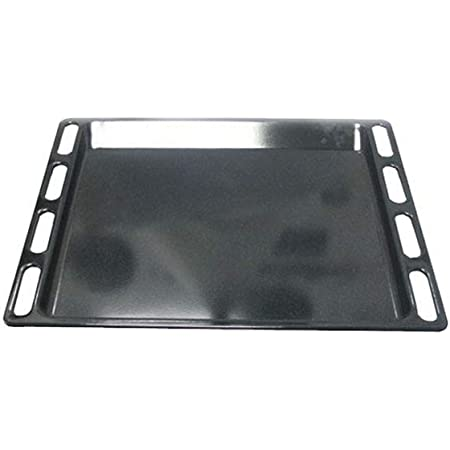 LECHE-FRITES EMAILLEE NOIRE PYRO 446X358 POUR FOUR HOTPOINT - C00137834