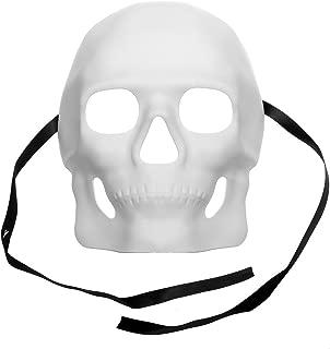 White Masquerade Venetian Mardi Gras Mask for D.I.Y