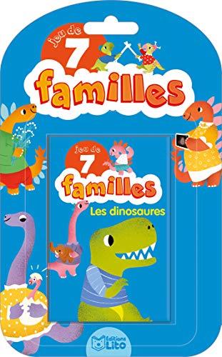Jeu de 7 familles: Les dinosaures - Dès 5 ans
