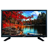 """SuperSonic SC-2411 LED Widescreen HDTV & Monitor 24"""" Flat Screen with USB Compatibility, SD Card Reader, HDMI & AC/DC Input: Built-in Digital Noise Reduction (DC Cable not Included)"""