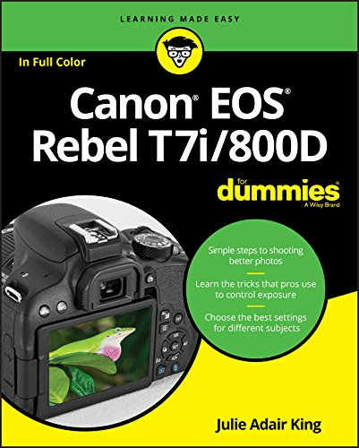 Canon EOS Rebel T7i/800D For Dummies (For Dummies (Computer/Tech)) (English Edition)