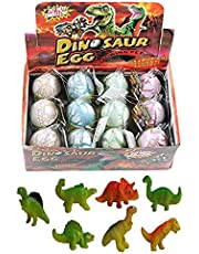 Emulational Dinosaur Dragon Hatch-Grow Eggs Large Big Size Pack of 12PCS