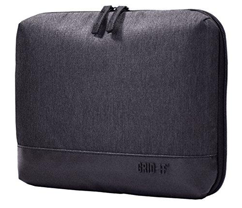 Cocoon GRID IT UBER 10 iPad Sleeve Organizer mit elastischen Bandern Organizer fur Aktentasche Handtasche Business Tasche iPad Schutzhulle mit Integriertem Handriemen Kohle 10 Zoll