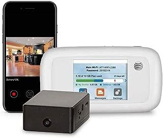 Brickhouse Security B-Link-1C Camscura WiFi with B-Link Secure MiFi Personal Hotspot Cellular (1 Camera, 1 32GB SD, 1 MiFi Kit)