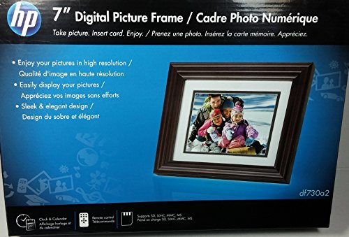"Hp 7"" Digital Picture Frame (Df730a2) Digital Frames Picture"