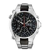 [オリエント時計] 腕時計 アラーム機能付き 1/5秒クロノグラフ ストップウォッチ搭載 国内メーカー保証付き STD0G001B0 メンズ