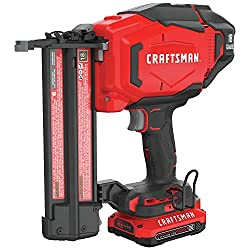 cheap CRAFTSMAN V20 Battery Blood Nailer Kit, 18GA (CMCN618C1)