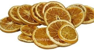 FloristryWarehouse secado Naranja rodajas. Paquete de 15