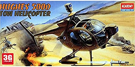 ACADEMY United States model aircraft model 12250 Hughes 500D helicopter (TOW)