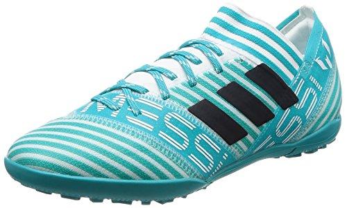 adidas Unisex-Kinder Nemeziz Messi Tango 17.3 TF Fußballschuhe, Weiß (Footwear White/Legend Ink/Energy Blue), 36 2/3 EU