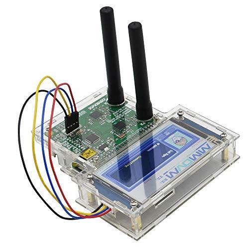 Module Board Raspberry Pi & Orange Pi - USB Duplex MMDVM Hotspot Support P25 DMR YSF NXDN Pi+Raspberry Pi zero+2pcs Antenna+3.2 LCD Display Screen+Protetive Case+8G TFT Card - (Color: Transparent)
